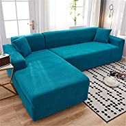 Sofa Cover, Universal Stretch All-inclusive Full-cover Fabric Sofa Cover, Combined Sofa Cover, Washable Soft T