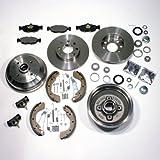 Bremsscheiben Bremsen Set vorne und Bremstrommel Set für hinten*