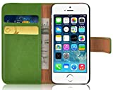 Housse iPhone SE Housse iPhone 5 5s Portefeuille | JammyLizard | Housse range cartes...