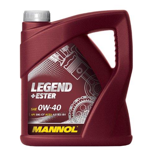 Preisvergleich Produktbild MANNOL Legend+Ester 0W-40 API SN / CF Motorenöl,  4 Liter