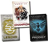 The Legend Trilogy Series Collection Marie Lu 3 Books Set (Prodigy, Champion,...