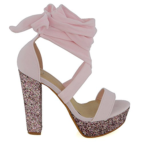 essex-glam-damen-pastell-rosa-wildlederimitat-schnurer-funkeln-plateau-party-hoher-absatzschuhe-eu-3