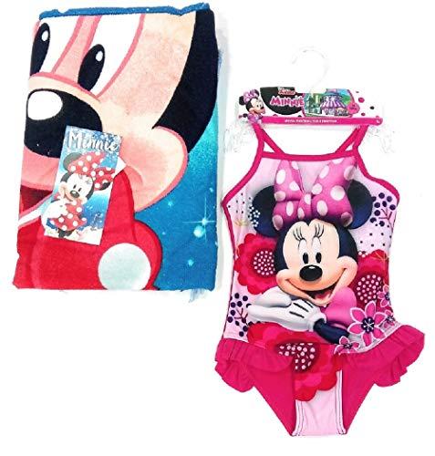 Bañador Minnie Mouse + Toalla Disney Minnie Mouse Microfibra 8 años