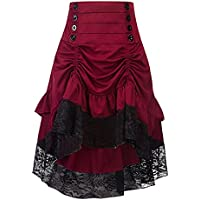 YF Women Lace Stitching Package Hip Dress Fashion Season Explosion Models Skirt