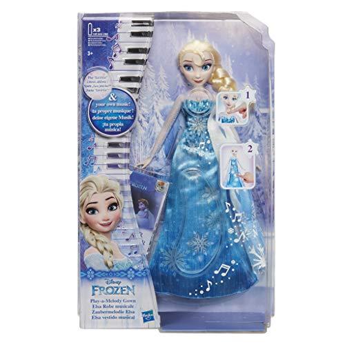 Gesicht Zwei Kostüm Girl - Hasbro Disney Die Eiskönigin C0455EU4 - Die Eiskönigin Zaubermelodie Elsa, Puppe