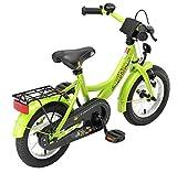 BIKESTAR® Premium Kinderfahrrad für sichere und sorgenfreie Spielfreude ab 3 Jahren ★ 12er Classic Edition ★ Brilliant Grün -