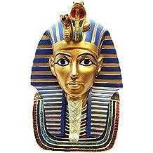 Gran Máscara de faraón egipcio rey Tut Busto Estatua decorativa, diseño de Tutankamón