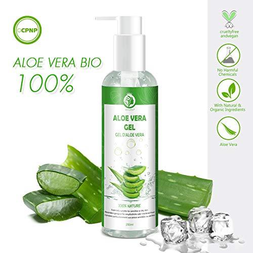 Aloe Vera Gel bio 100% Emergency-Natürlich Feuchtigkeitscreme Lotion gesichtscreme damen männer...