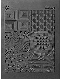 Great Create (GRF8Z) Lisa Pavelka Individual Texture Stamp, 4.25 by 5.5-inch 1-Pack-Illusionary