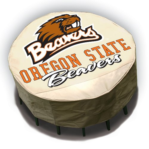 Backyard Basics Oregon State Runde Tischdecke