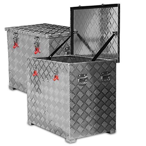 234l Alukiste Werkzeugkiste Alubox Deichselbox Staubox Gurtkiste Box Alu Kiste TB3