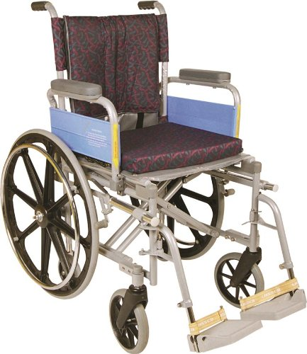 Vissco Invalid Wheel Chair with High Back Rest and Mag Wheels - Universal (Delux)