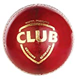 #4: SG Club Leather Cricket Ball, Pack of 2 (Red)