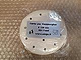 Sirge CH-130 Carta per hamburger da 130mm Confezione per 500 Pezzi per Alimenti FORATA immagine