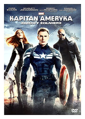 Captain America 2: The Return of the First Avenger [PL DVD] (English audio, English subtitles) by Scarlett Johansson