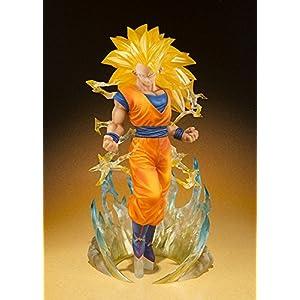 Bandai – Figurine Dragon Ball Z – Son Gokou Super Saiyan 3 Figuarts Zero – 4549660038054