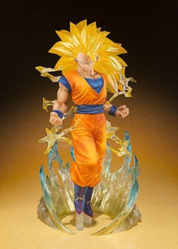Bandai - Figurine Dragon Ball Z - Son Gokou Super Saiyan 3 Figuarts Zero - 4549660038054 2