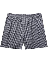 Pau1Hami1ton B-01X Bóxer para Hombre Cuadros Calzoncillos Ropa Interior Slip Trunks Boxer Shorts
