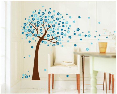 fleurs-bleues-colorfulworld-arbre-sticker-mural-taille-60-90-cm
