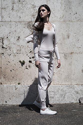 CoSTANZA.P -  Pantaloni  - Donna grigiomelange