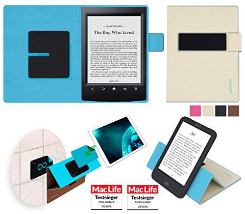 reboon Hülle für Sony PRS-T2 Tasche Cover Case Bumper | in Beige | Testsieger