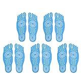 Rilievo adesivo, scarpe invisibili per l'acqua, scarpe a piedi nudi, Nakefit Stick sulle zampe pedonabili con design antisdrucciolo e impermeabile per amanti nudi, attività estive