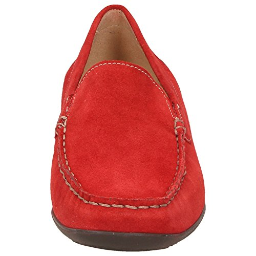 Sioux 60081, Mocassini donna rosso Rot Rot