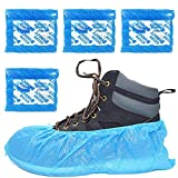400 x Simply Direct Standard Disposable Shoe Covers/Overshoes. Floor, Carpet, Shoe Protectors CPE 2.7g. Embossed. Light to Medium Use.