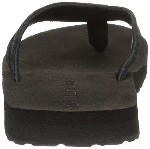 Columbia Herren Sorrento Leather Flip Sandalen Schwarz (Black/black 010)