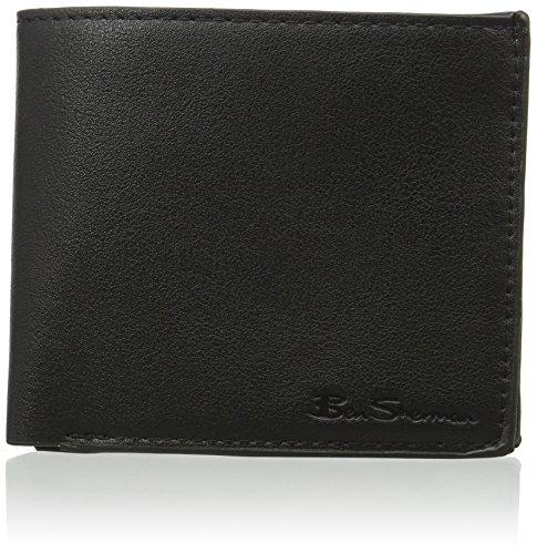 Ben-Sherman-Year-Round-Mens-PU-Black-Wallet