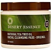Desert Essence Tea Tree Oil Cleansing Pads 50