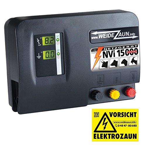 18,6 Joule EXTREM STARKES 230V Weidezaungerät mit 11,500 Volt - Auch geeignet zur Wildschweinabwehr Wildabwehr Wildzaun