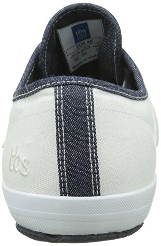 TBS Henley, Sneakers Basses homme Blanc
