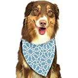 rwwrewre Hundehalsbänder Hunde Halstuch,Abstract Geometric Pet Dog Bandanas Triangle Bib Scarf Accessories for Dogs, Cats, Pets Animals,Soft Head Scarfs Accessories Pet bib Pet Supplies