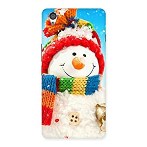 Delighted Snowman Multicolor Back Case Cover for OnePlus X