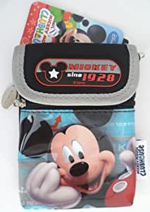 Disney Mickey Mouse Club House Bill, Cards, Coin, Mobile Phone, iphone, Neck Pouch, Purse, Bags - Gift for Kids, Boys, Girls, Women, Son, Daughter, Niece, Nephew, Childrens, Birthday, School, Travel, Student, Officers, Christmas.