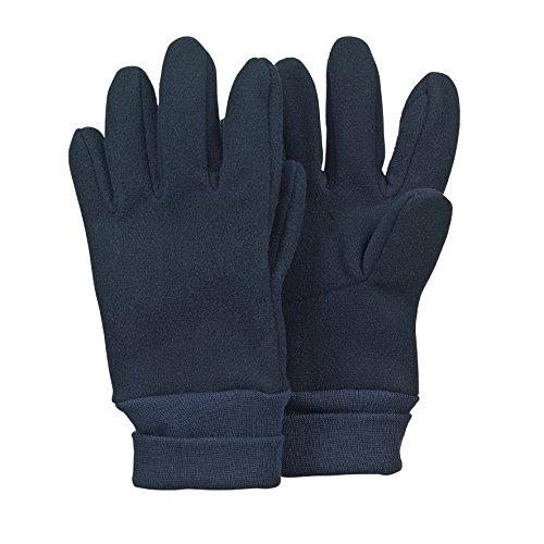 Sterntaler Fingerhandschuhe für Kinder, Alter: 7-8 Jahre, Größe: 5, Blau (Marine)