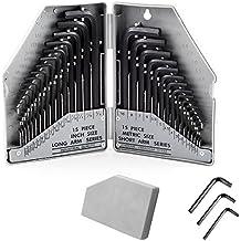 Winkelschlüssel Set Imbusschlüssel Schraubenschlüssel Sechskant Kurz Neu 10 tlg