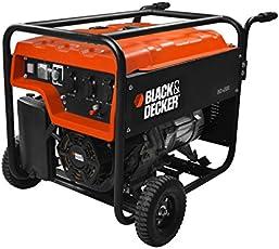 Black + Decker 160100560 Stromgenerator, 4000 W, 230 V, Orange, Einheitsgröße