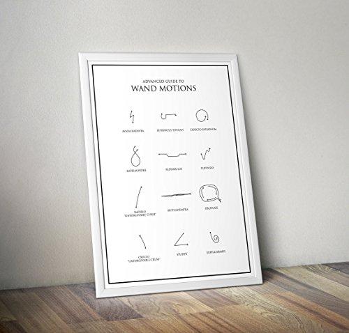 Harry Potter inspiriert Poster - erweiterte Wand Motions - Hogwarts - Zitat - Alternative TV / Movie...