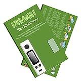 Disagu Joyetech eVic-VTC Mini Displayschutzfolie - 6X Ultra Clear Schutzfolie für Joyetech eVic-VTC Mini
