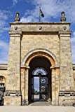Blenheim Palace Gate in Oxfordshire, England Journal: Take Notes, Write Down Memories in this 150 Page Lined Journal