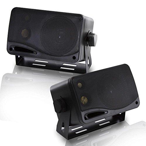Pyramid 2022SX Lautsprechersystem für Lastwagen (200W, 3-Wege-Lautsprecher, Mini-Boxen)