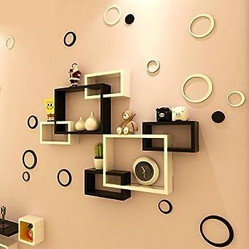 Mamta Decoration Wall Shelf Rack Set Of 2 Shelf Shaped