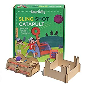 Smartivity Sling Shot Catapult Educational Toy, Multi Color