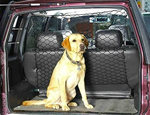 XtremeAuto® Car Boot, Pet Dog Safety Net: Guard, Barrier, Protector for Hatchback/Estate cars