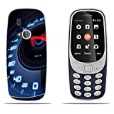 DIKAS Coque Nokia 3310 (2017), 3D Ultra Transparent Silicone en Gel TPU Souple Housse...
