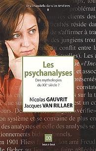 Les psychanalyses : Des mythologies du XXe siècle ? par Nicolas Gauvrit