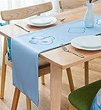 Sucastle® 33X200cm Tuch Tischläufer Hochzeit Tischband ,abwaschbar (Farbe wählbar),Meterware,Tischwäsche,stoffähnliches Vlies, Party, Catering , Vereinsfeier ,Geburtstag
