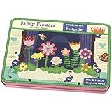 Mudpuppy - Caja magnética con flores (MPCM34458)
